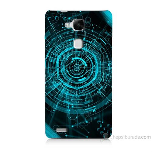 Teknomeg Huawei Ascend Mate 7 Asit Baskılı Silikon Kılıf