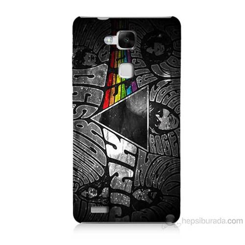 Teknomeg Huawei Ascend Mate 7 Pink Floyd Baskılı Silikon Kılıf