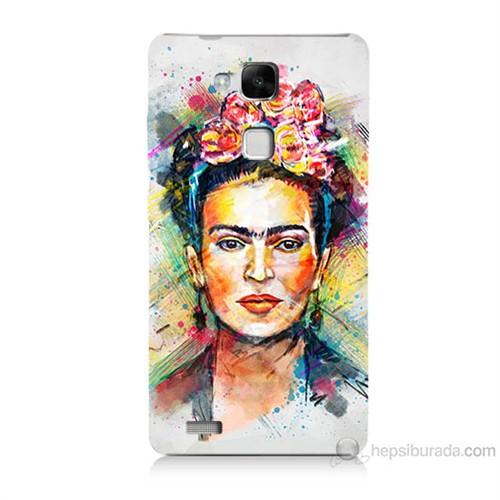 Teknomeg Huawei Ascend Mate 7 Frida Baskılı Silikon Kılıf