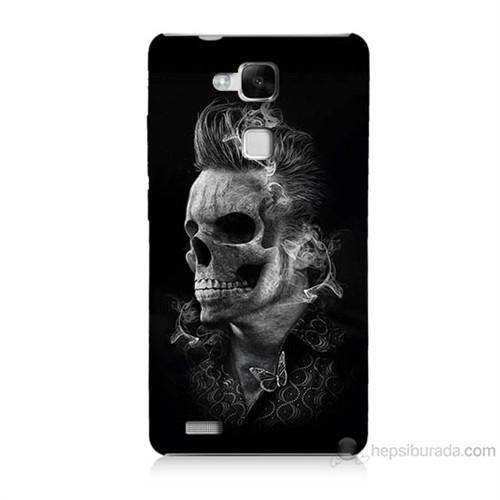 Teknomeg Huawei Ascend Mate 7 Elvis Presley Efsanesi Baskılı Silikon Kılıf