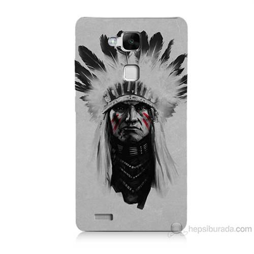 Teknomeg Huawei Ascend Mate 7 Geronimo Baskılı Silikon Kılıf