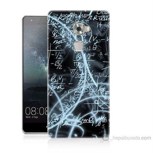Teknomeg Huawei Ascend Mate S Matematik Baskılı Silikon Kılıf