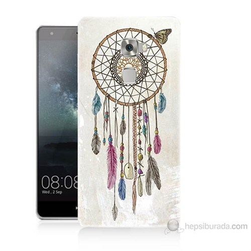 Teknomeg Huawei Ascend Mate S Dream Catcher Baskılı Silikon Kılıf