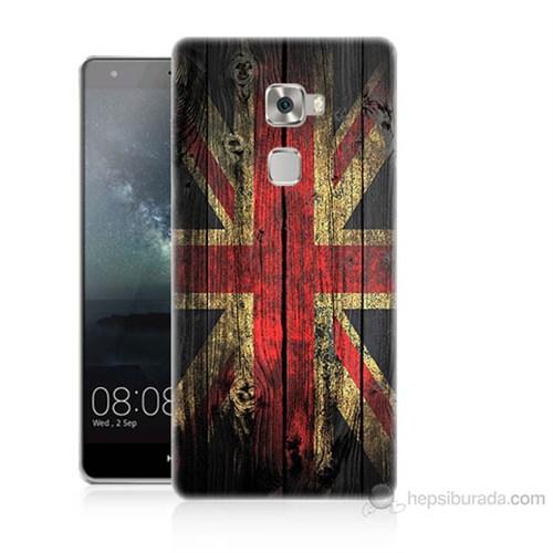 Teknomeg Huawei Ascend Mate S İngiliz Bayrağı Baskılı Silikon Kılıf