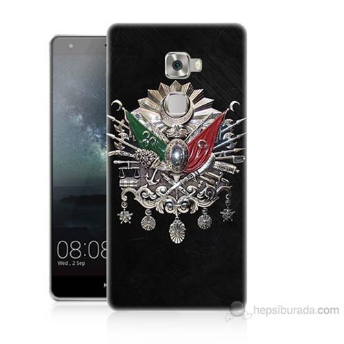 Teknomeg Huawei Ascend Mate S Osmanlı Baskılı Silikon Kılıf