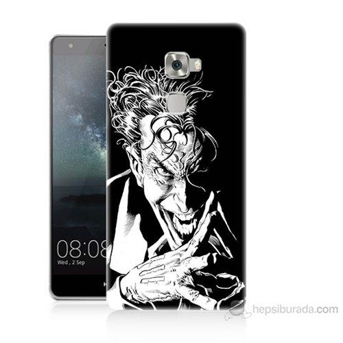 Teknomeg Huawei Ascend Mate S Gülen Joker Baskılı Silikon Kılıf