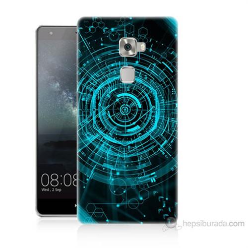 Teknomeg Huawei Ascend Mate S Asit Baskılı Silikon Kılıf
