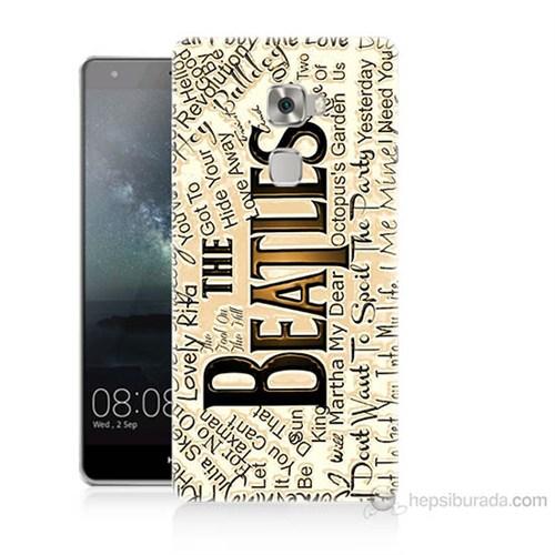 Teknomeg Huawei Ascend Mate S The Beatles Baskılı Silikon Kılıf