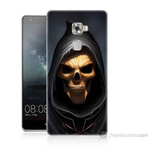 Teknomeg Huawei Ascend Mate S Ölüm Meleği Baskılı Silikon Kılıf