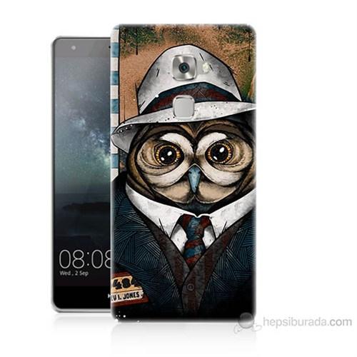 Teknomeg Huawei Ascend Mate S Crazy Jones Baskılı Silikon Kılıf