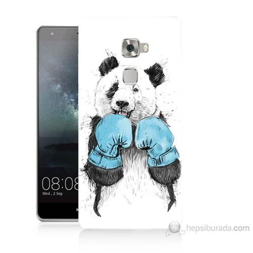 Teknomeg Huawei Ascend Mate S Boksör Panda Baskılı Silikon Kılıf