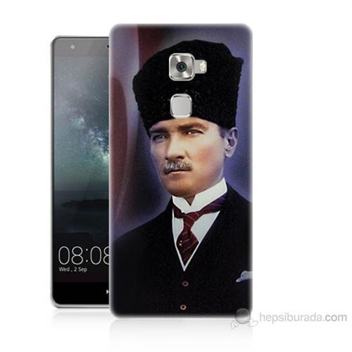 Teknomeg Huawei Ascend Mate S Mustafa Kemal Atatürk Baskılı Silikon Kılıf