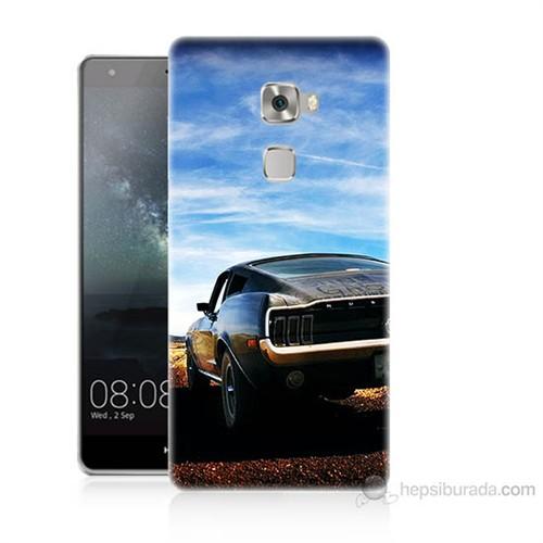 Teknomeg Huawei Ascend Mate S Mustang Baskılı Silikon Kılıf