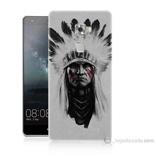 Teknomeg Huawei Ascend Mate S Geronimo Baskılı Silikon Kılıf