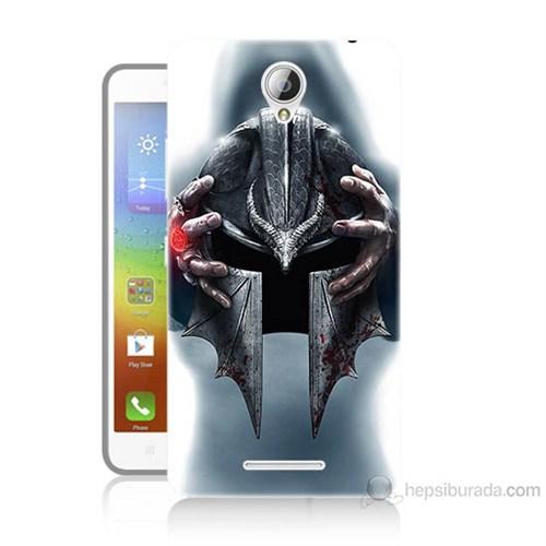Teknomeg Lenovo A5000 Assassins Creed Baskılı Silikon Kılıf