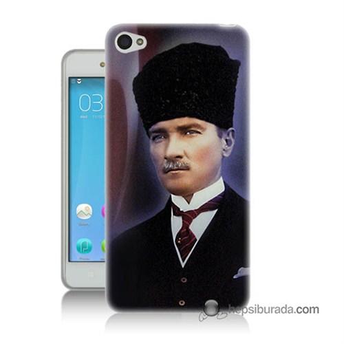 Teknomeg Lenovo S60 Mustafa Kemal Atatürk Baskılı Silikon Kılıf