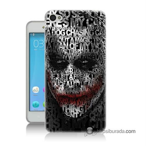 Teknomeg Lenovo S60 Joker Baskılı Silikon Kılıf