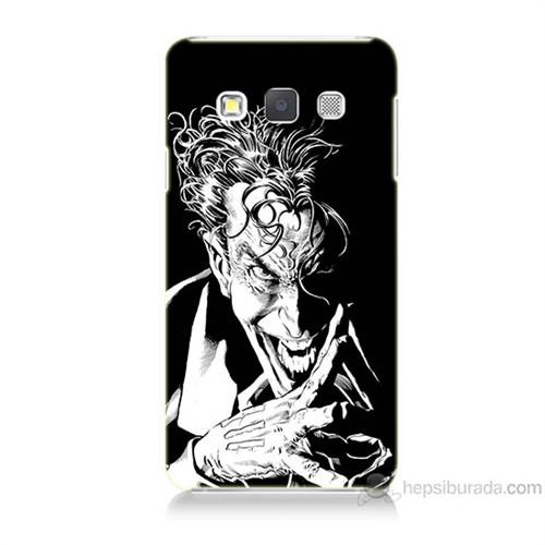 Teknomeg Samsung Galaxy A3 Gülen Joker Baskılı Silikon Kılıf