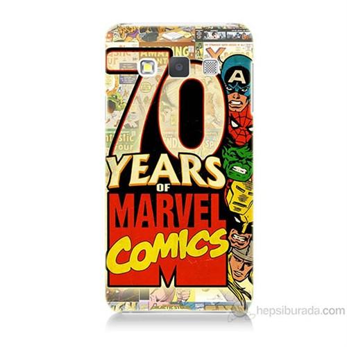 Teknomeg Samsung Galaxy A3 Marvel Karakterleri Baskılı Silikon Kılıf