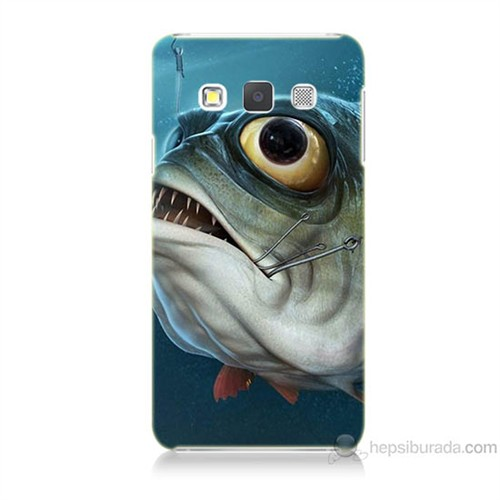 Teknomeg Samsung Galaxy A3 Balık Baskılı Silikon Kılıf