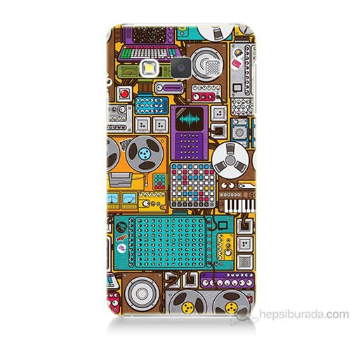 Teknomeg Samsung Galaxy A3 Teknoloji Baskılı Silikon Kılıf