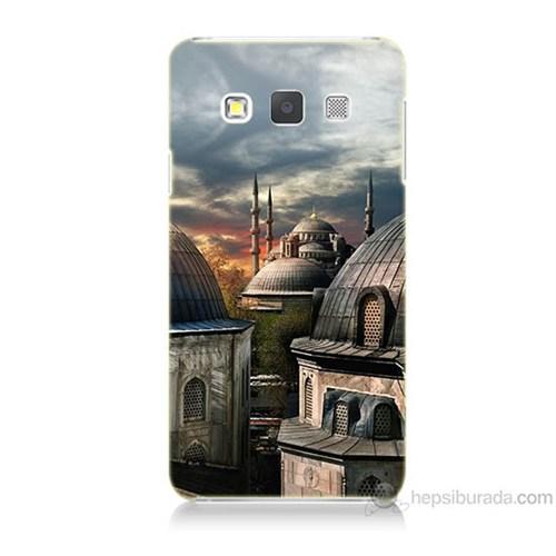 Teknomeg Samsung Galaxy A3 Cami Baskılı Silikon Kılıf