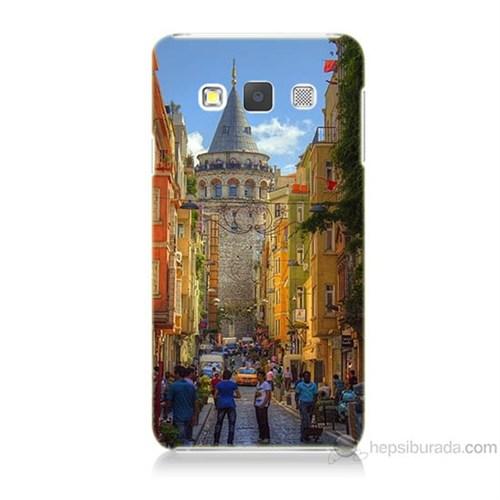 Teknomeg Samsung Galaxy A3 Galata Kulesi Baskılı Silikon Kılıf