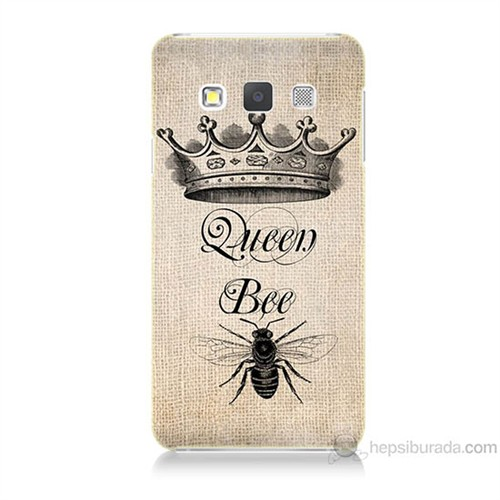 Teknomeg Samsung Galaxy A3 Queen Bee Baskılı Silikon Kılıf