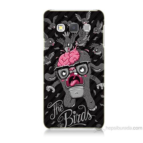 Teknomeg Samsung Galaxy A3 The Birds Baskılı Silikon Kılıf