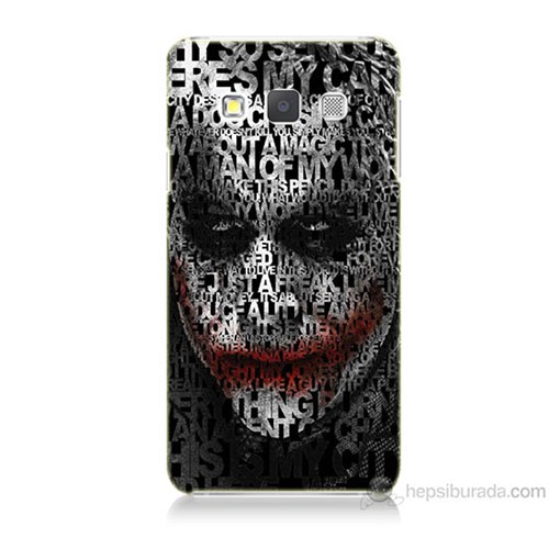 Teknomeg Samsung Galaxy A3 Joker Baskılı Silikon Kılıf
