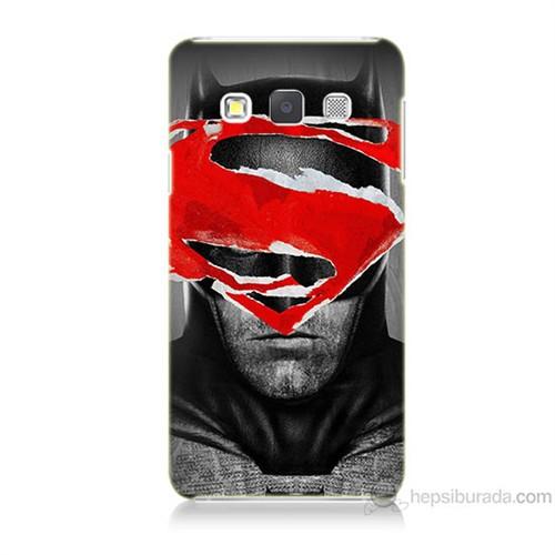 Teknomeg Samsung Galaxy A3 Batman Vs Superman Baskılı Silikon Kılıf