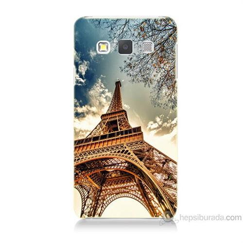 Teknomeg Samsung Galaxy A5 Eyfel Kulesi Baskılı Silikon Kılıf