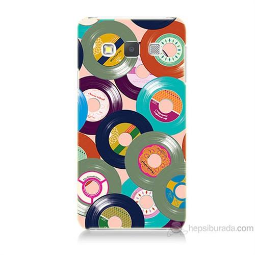 Teknomeg Samsung Galaxy A5 Renkli Plaklar Baskılı Silikon Kılıf