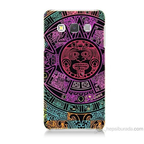 Teknomeg Samsung Galaxy A5 Mayalar Baskılı Silikon Kılıf