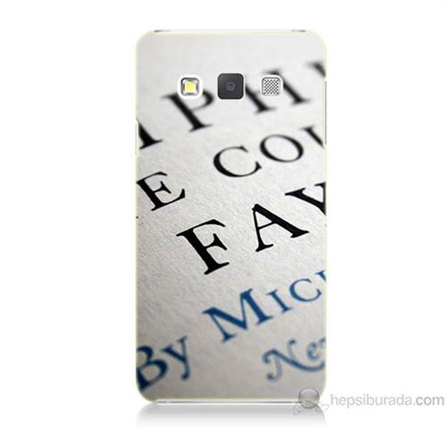 Teknomeg Samsung Galaxy A5 Yazılar Baskılı Silikon Kılıf