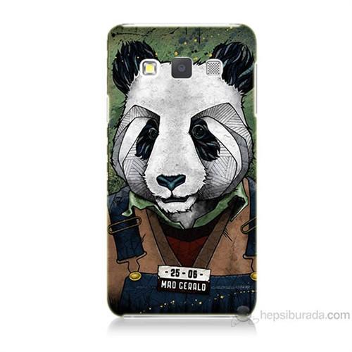 Teknomeg Samsung Galaxy A5 İşçi Panda Baskılı Silikon Kılıf