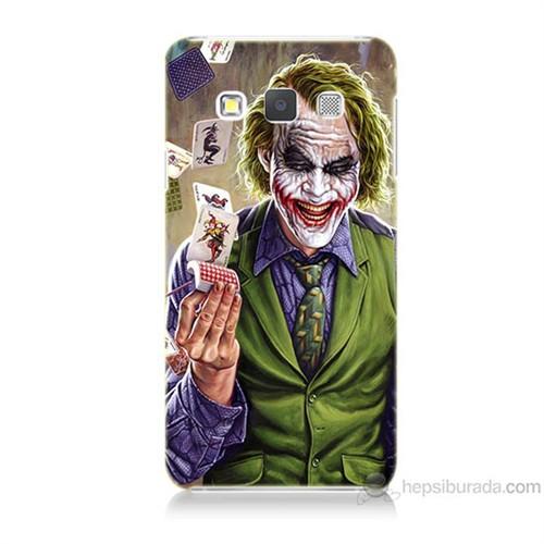 Teknomeg Samsung Galaxy A5 Kartlı Joker Baskılı Silikon Kılıf
