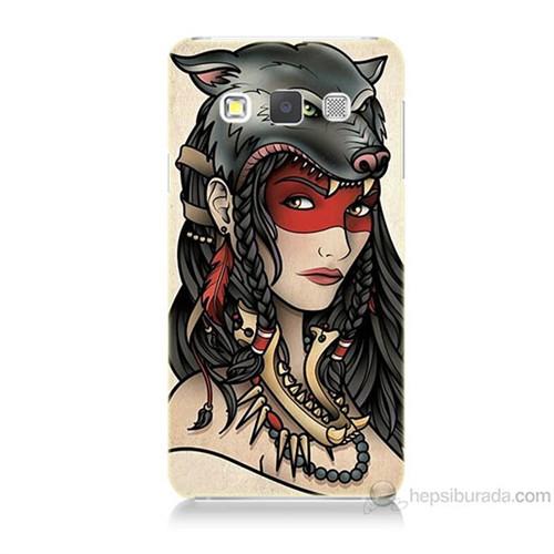 Teknomeg Samsung Galaxy A5 Pocahontas Baskılı Silikon Kılıf