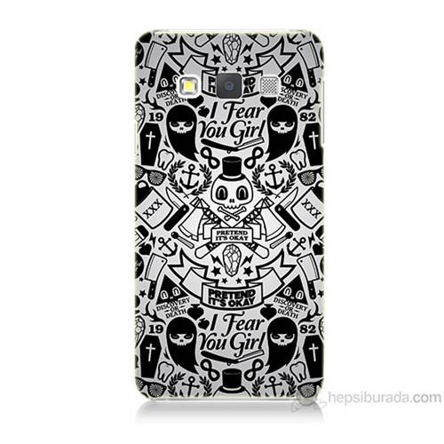 Teknomeg Samsung Galaxy A5 Karikatür Baskılı Silikon Kılıf