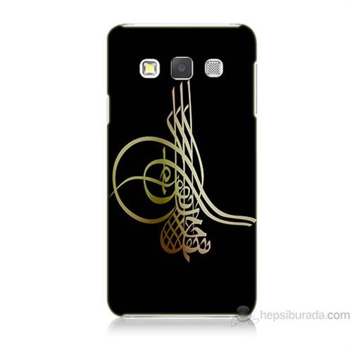 Teknomeg Samsung Galaxy A5 Tuğra Osmanlı Baskılı Silikon Kılıf