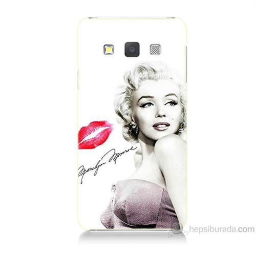 Teknomeg Samsung Galaxy A5 Marilyn Monroe Baskılı Silikon Kılıf