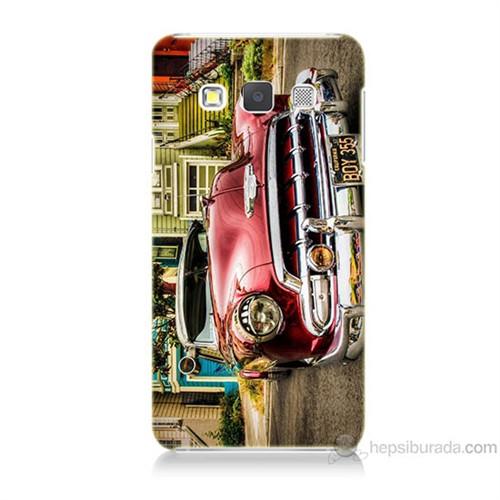 Teknomeg Samsung Galaxy A5 Klasik Araba Baskılı Silikon Kılıf