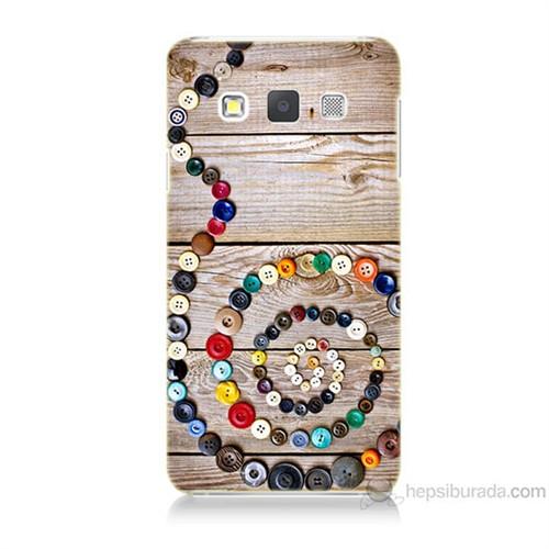 Teknomeg Samsung Galaxy A5 Düğmeler Baskılı Silikon Kılıf