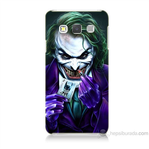 Teknomeg Samsung Galaxy A7 Joker Baskılı Silikon Kılıf