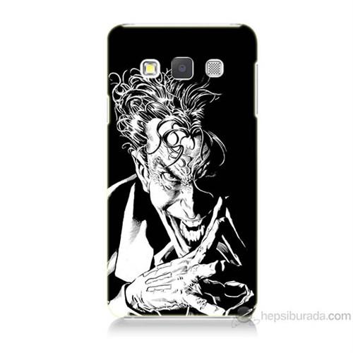 Teknomeg Samsung Galaxy A7 Gülen Joker Baskılı Silikon Kılıf