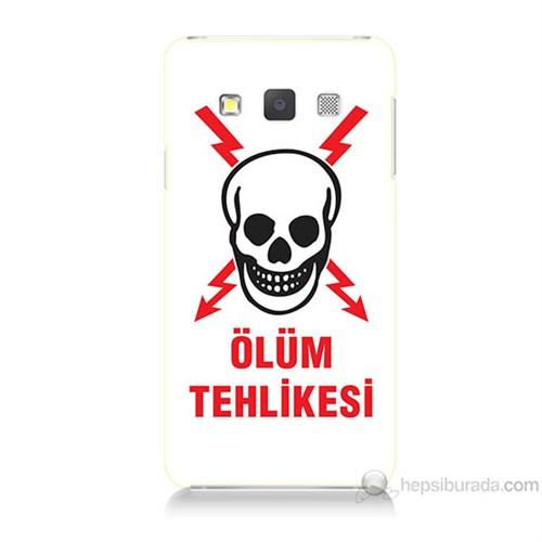 Teknomeg Samsung Galaxy A7 Ölüm Tehlikesi Baskılı Silikon Kılıf