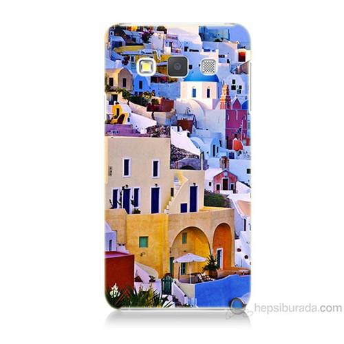 Teknomeg Samsung Galaxy A7 İbiza Baskılı Silikon Kılıf