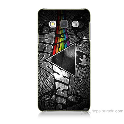 Teknomeg Samsung Galaxy A7 Pink Floyd Baskılı Silikon Kılıf