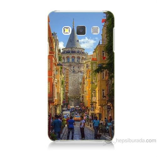 Teknomeg Samsung Galaxy A7 Galata Kulesi Baskılı Silikon Kılıf