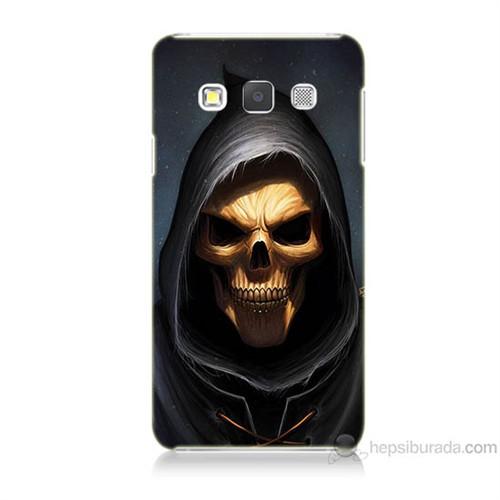 Teknomeg Samsung Galaxy A7 Ölüm Meleği Baskılı Silikon Kılıf